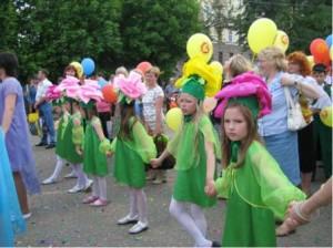 Участие в праздничном шествии, посвященном Дню города Кирова