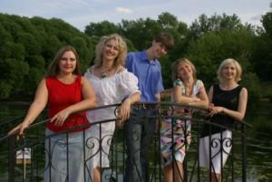 Состав ансамбля 2007 года